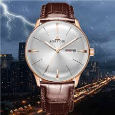<b>Reef Tiger</b>/<b>RT 2019</b> Top Brand Luxury Watch Men MultiFunction ...