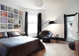 incredible decor room design with frame on the wall also gray bed sheet also floor lamp bedroom floor lamps design