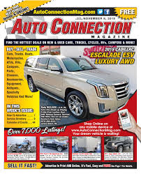 11-08-18 Auto Connection Magazine by Auto Locator and Auto ...