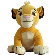Cute 1pcs Sitting High <b>26cm</b> Simba The <b>Lion</b> King Plush Toys ...