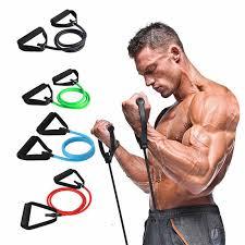 17Pcs <b>Fitness Resistance Bands</b> elastic belt men and <b>women</b> Pull ...