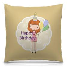 """Подушки c стильными принтами """"день рождения"""" - <b>Printio</b>"""