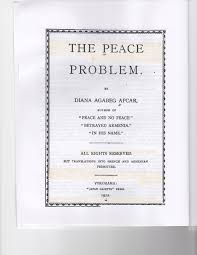 the lost consul film book covers the peace problem title page 1912