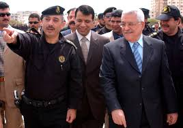 fatah heads towards a congress a looming leadership question a photograph supplied by the palestinian authority shows palestinian president mahmoud abbas c and mohammed dahlan c who was at the time chief of the