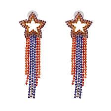 Shop <b>2019 New Bohemian</b> Crystal moon stars Drop Earrings For ...