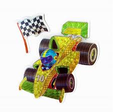 Classic Race Cars stickers Colorful <b>Wall</b> Decals For Kids Lively ...