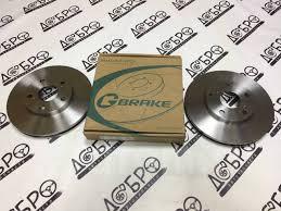 <b>Комплект передних тормозных</b> дисков Toyota G-brake GR-02209 ...