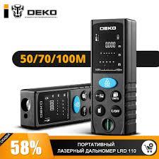 <b>Дальномер</b> лазерный <b>DEKO LRD110</b>-<b>50m 065-0205</b> | Купить ...