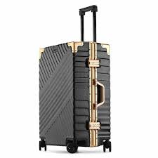 LeTrend 100% <b>Aluminum magnesium alloy</b> Rolling Luggage ...