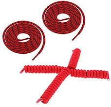 Baosity 2 <b>Pairs No Tie</b> Shoes Laces (Natural 12.5cm, Stretched ...