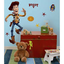 bedroom themed kids bedroom comfy woody wall sticker in big size adorable brown bear doll bedroom furniture sticker style