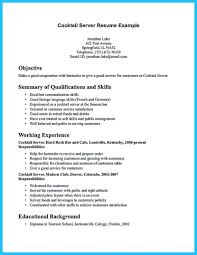 bartending resume objective sample cipanewsletter bartender resume objective sample bartender resume examples how to