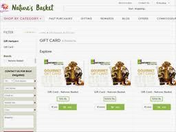 Natures Basket | Gift Card Balance Check | Balance Enquiry, Links ...