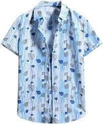 haoricu <b>Summer Mens Short Sleeve</b> Shirts Casual Button Down ...