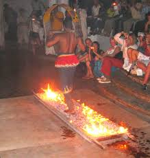 Image result for images of fire walkers in sri lanka