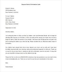 11 daycare termination letter templates free sample example sample daycare write termination letter