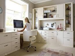 attractive home office ideas for brilliant white home office furniture