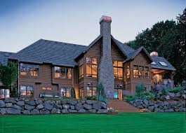 Home Plans   a Great Indoor Outdoor ConnectionLodge Craftsman Home Plans   The Tasseler