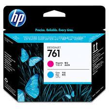 <b>HP</b> Ink <b>761 MAGENTA</b>/<b>CYAN</b> INKJET PRINTHEAD
