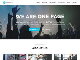 30 best responsive wordpress themes 2016 accesspress themes onepress is a fresh wordpress theme smooth one page parallax design it is completely built on customizer so that you can quickly make changes in
