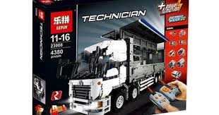 <b>Конструктор Lepin 23008</b> Грузовик Wing Body Truck