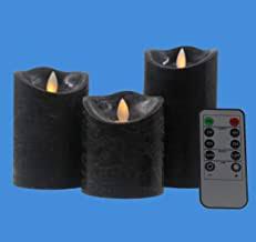 black flameless candles - Amazon.com