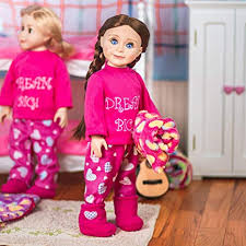 The Queen's Treasures <b>Dream Big Pajamas for</b> 18-Inch Dolls and ...