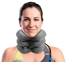 Amazon.com: Cervical <b>Neck Traction</b> Device and Collar Brace by ...