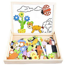 Irady Magnetic Puzzles Kids Educational Wooden ... - Amazon.com