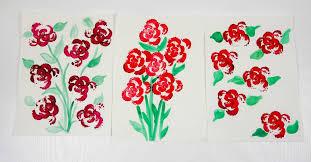 <b>Printing Flowers</b> with Celery Stalks - Vegetable <b>Printing</b> - Mum In ...