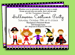 halloween costume party invitation templates ctsfashion com best photos of halloween birthday invitation templates halloween