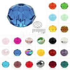 <b>4MM 6MM</b> 8MM Czech Crystal Clear <b>Bicone</b> Jewelry Diy Glass ...