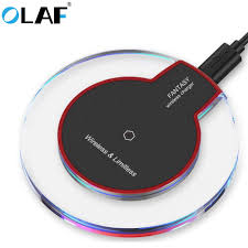 <b>Olaf</b> QI Wireless Charger For iPhone XS Max XR Phone <b>LED USB</b> ...