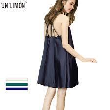 UNLIMON <b>Womens</b> Silk <b>Nighties</b> Satin Backless <b>Nightgown Sexy</b> ...