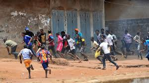 Anti-government protesters clash with police in Guinea | Alpha ...