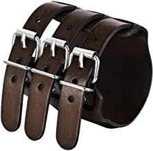 leather wristbands - Amazon.com
