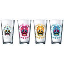 Luminarc Sugar <b>Skulls</b> Beer <b>Glasses</b> - 4 piece/16oz   London Drugs