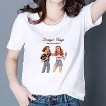 Женская <b>футболка</b> с принтом «странные вещи» в стиле «панк ...
