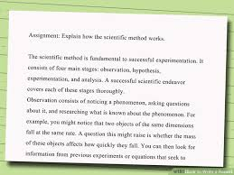 sample essay report how to write a report with free sample   wikihow image titled write a essay report example