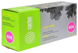 Купить <b>картридж</b> для принтера <b>Cactus CS</b>-<b>CLT</b>-<b>Y406S yellow</b> в ...