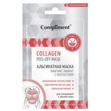 <b>Альгинатная маска</b> Compliment Collagen Peel-off mask <b>лифтинг</b> ...