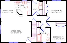 Chalet Floor Plans