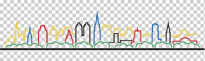 City <b>Silhouette</b>, painted, animals, building png   Klipartz