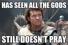 Stubborn Atheist Perseus memes | quickmeme via Relatably.com