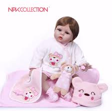 NPKCOLLECTION <b>55CM 2018 New Design</b> Silicone Reborn Doll ...