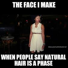 Natural hair humor on Pinterest | Natural Hair, Meme and Natural ... via Relatably.com