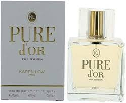 <b>KAREN LOW PURE</b> D'OR FOR WOMEN EAU DE PARFUM SPRAY ...