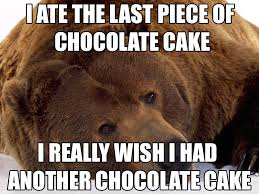 In light of so many Confession Bear memes that aren't really ... via Relatably.com