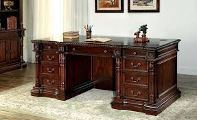 roosevelt cm dk6252d traditional cherry finish home office desk home office furniture cherry finished