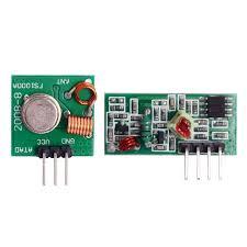 DIY 433MHz <b>Wireless Transmitter</b> + <b>Receiving</b> Module ...
